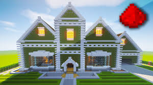 Mincraft Maps Realistic Redstone House Fully Function Redstone House