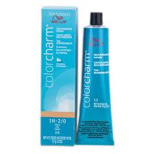 blue ash color wella color charm demi permanent haircolor 10na 10 01 lightest ash