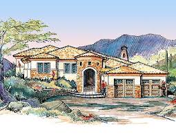 spanish home plans e architectural design page 4