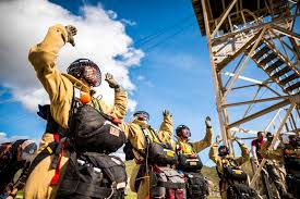 Alberta Wildfire Job Application by Into The Fire Training Elite Smokejumpers Who Parachute Into