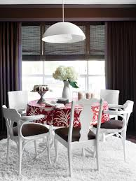 Painting Dining Room Table Paint Eclectic Chairs For A Cohesive Look Hgtv
