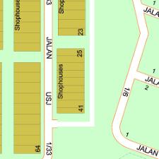 map usj 1 map of usj 1 avenue 47500