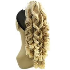 Blonde Hair Extensions Clip In by Online Get Cheap Ponytail Hair Extensions Clip Aliexpress Com
