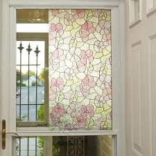 Decorative Window Film Stained Glass Stained Glass Window Film Privacy Decorative Static Clings