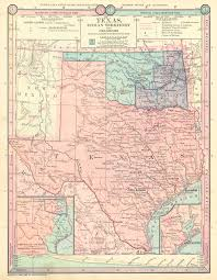 Chicago Map 1890 by Maps Antique United States Us States Oklahoma