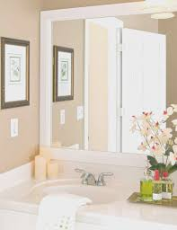 framing bathroom mirror ideas bathroom creative frame bathroom mirror nice home design fancy