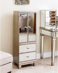 Hayworth Jewelry Armoire Slash Prices On Abbyson Sophie Champagne Gold Mirrored Jewelry