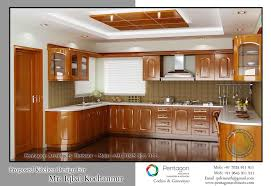 interior decoration for kitchen kerala style kitchen interior designs traditional wooden style