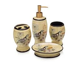 elvoki com bath accessories 4 piece ceramic set u2013 soap dispenser