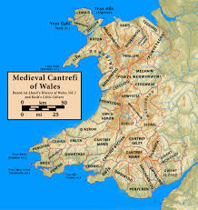 Medieval Maps File Cantrefi Medieval Wales Jpg Wikimedia Commons