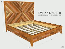 Bed Frame Plans Robust Storage How To Build A Wood Loccie And Storage Frames