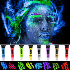 halloween body paint popular glow body paint buy cheap glow body paint lots from china