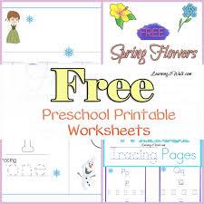 free preschool printable worksheets fun learning ideas
