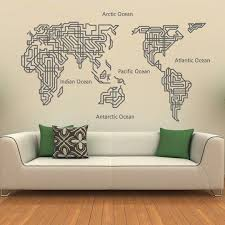 Map Wall Decor by The 25 Best Map Wall Decor Ideas On Travel