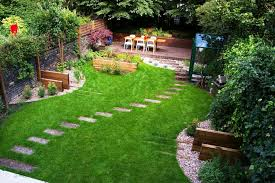 easy front yard landscaping ideas and backyard gardenabc