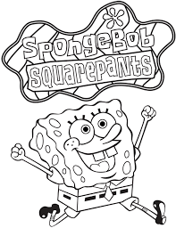 coloring pages to print of spongebob squarepants 3 popular with