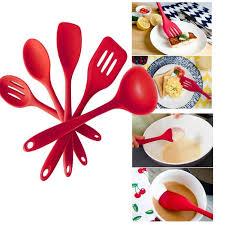 ustensile de cuisine en silicone wxx70617213 silicone cuisine ustensiles de cuisine ensemble de 5pc