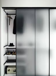 Separator Wall by Tempered Glass Partition Wall Greene Boffispa Wardrobe