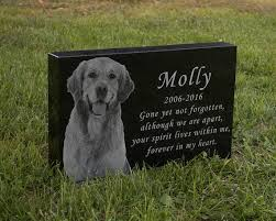 dog memorial 10 best pet memorial garden stones