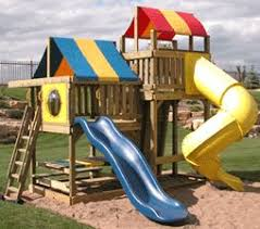 Backyard Play Systems by Best 25 Wooden Swing Set Kits Ideas On Pinterest Kids Clubhouse