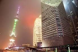 dusty china and dust in shanghai china stock image image of