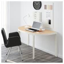 Schreibtisch Halbrund Bekant Konferenztisch Weiß Ikea