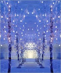 wedding entrance backdrop look at these beautiful trees decorated with lots of small lantern