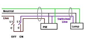 light sensor wiring diagram uk fancy pir carlplant