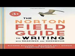 the norton field guide to the norton field guide to writing with readings and handbook third