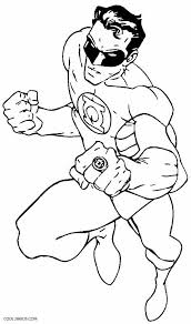 green coloring page printable green lantern coloring pages for kids cool2bkids