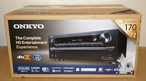 onkyo home theater onkyo tx nr646 7 2 channel home theater 3d dolby atmos receiver