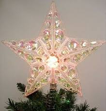 clear gem light up tree topper christmastreetopper