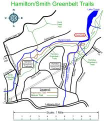 Greenbelt Austin Map by Hamilton Greenbelt
