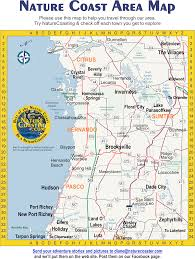 Map Of Pine Island Florida by Nature Coast Area Map Naturecoaster Exploring Citrus Hernando