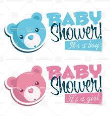 photo baby shower bear banners image