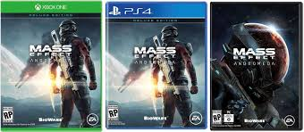 nomad mass effect mass effect andromeda deluxe edition cover art and remote