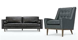 Oxford Leather Sofa Grey Leather 3 Seater Sofa Ez Living Furniture Grey Leather