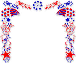 free patriotic border backgrounds for powerpoint border and