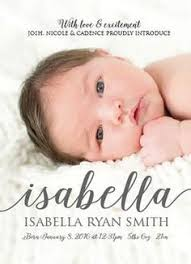 birth announcement name birth announcement photo baby announcement baby girl