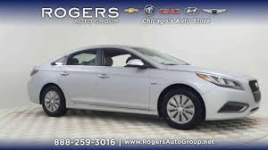new 2018 2017 hyundai sonata hybrid at rogers hyundai chicago