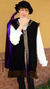 texas ren fest youth renaissance costume english king henry viii