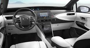 Toyota Map Update Usa by Hydrogen Fuel Cell Car Toyota Mirai