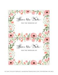 diy save the date postcard free printable mountain modern life