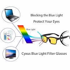 blue light filter goggles cyxus blue light filter better sleep block uv yellow lens glasses