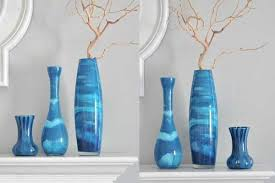 Apartment Decor DIY Painted Glass Vases