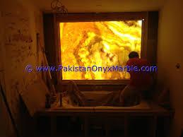 Onyx Countertop Backlit Bathroom Onyx Washroom Backlit Onyx Sinks Backlit Onyx