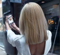 ombre hair growing out how to grown out ombre transformed into an edgy blonde lob