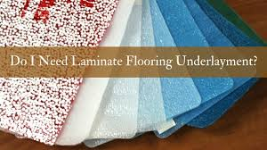 do i need laminate flooring underlayment