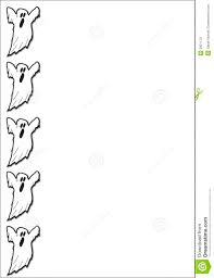 Halloween Border Clip Art by Ghost Clipart Border Pencil And In Color Ghost Clipart Border