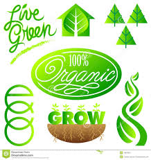Free Green Green Ecology Clip Art Set Eps Royalty Free Stock Photography